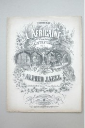 l' Africaine: Illustrations . Alfred Jaell  Op. 131